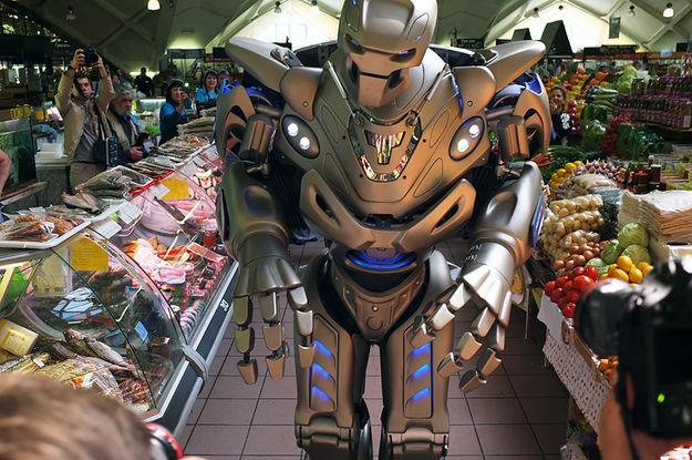 Maskvoje įvyko paroda-šou Robotų puota 6
