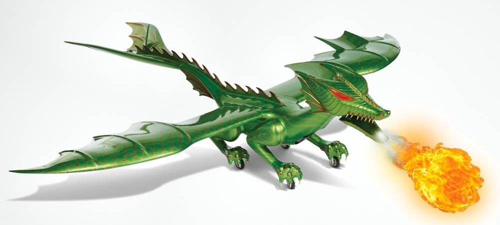 Robotizuotas drakonas už 60 tūkstančių dolerių