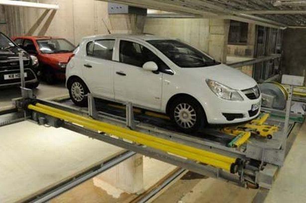 Robotizuotos parkavimo aikštelės 3