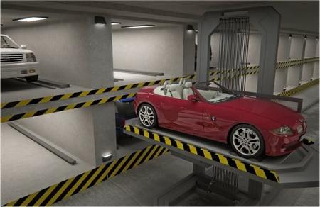 Robotizuotos parkavimo aikštelės 9
