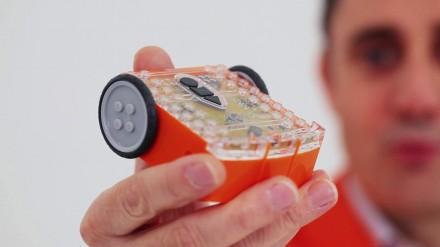 Vaikų edukacijai – robotas su Lego blokeliais