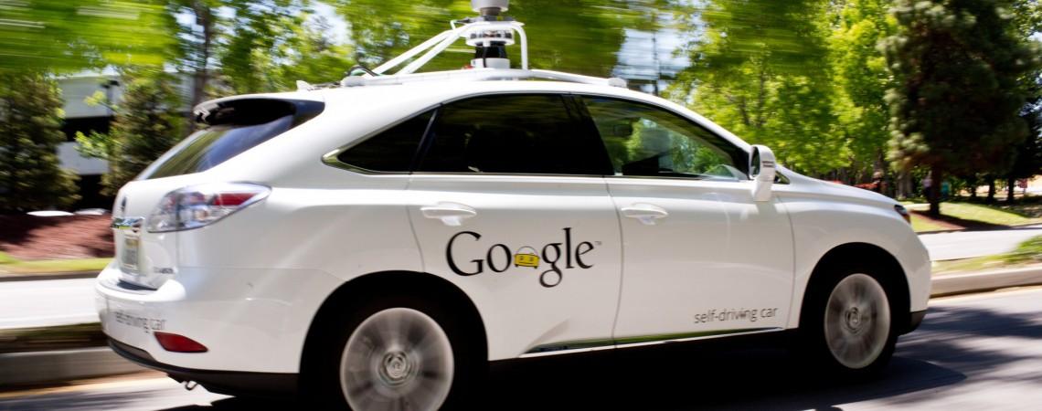 Autonominis Google Lexus