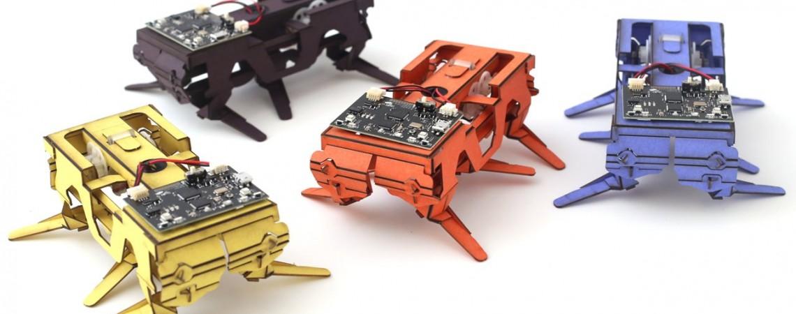 Dash Robotics robotai vabalai