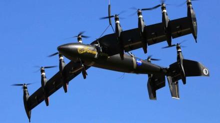 GL-10 Dronas/ NASA Langley, David C. Bowman nuotr.