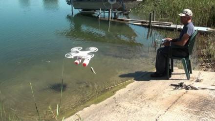 Žvejyba su dronu