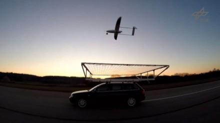 Drono nusileidimas