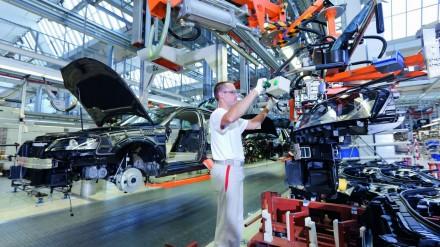 Audi robotai