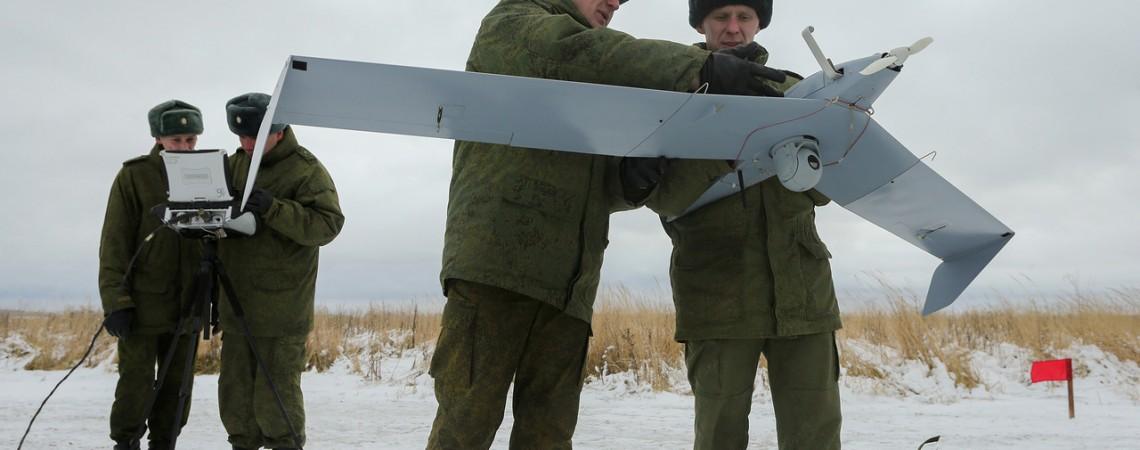 Dronas Rusija