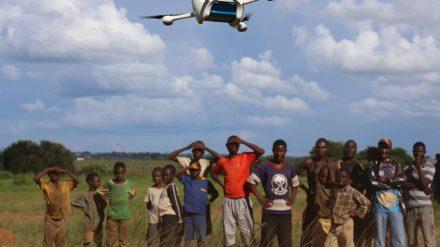 Zipline dronas