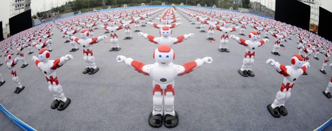 Šokantys robotai