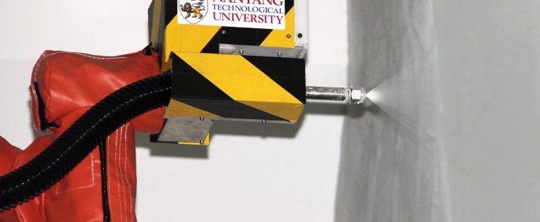 Inovacinis robotas-dažytojas PictoBot iš Singapūro (Video)