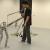 Amber 2 robotas žengia žmogaus žingsniu (video)